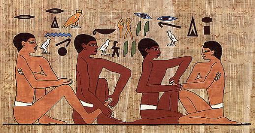 Już wstarożytnym Egipcie znano techniki refleksologiczne
